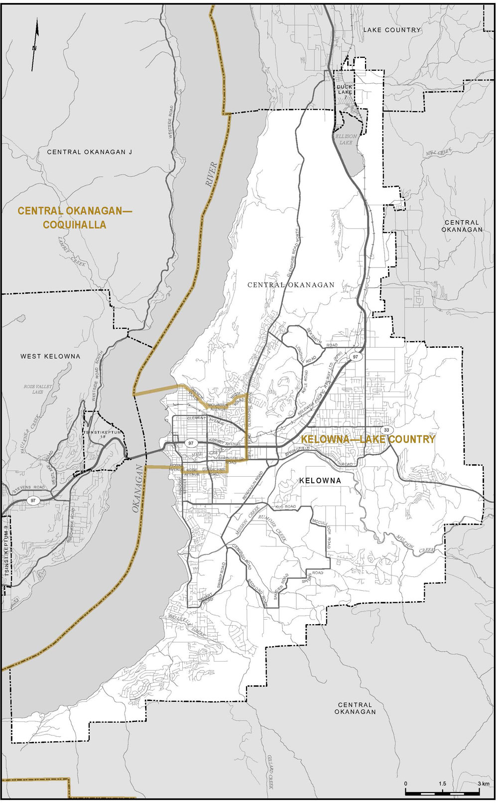 Proposed Boundaries British Columbia Redistribution Federal